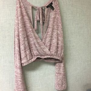 Bell sleeved top/sweater